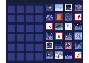 Keep Believing - Tomten & Friends 1 Yard Advent Calendar Panel