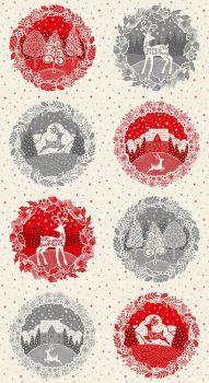 Christmas 21 Scandi - Circle Panel