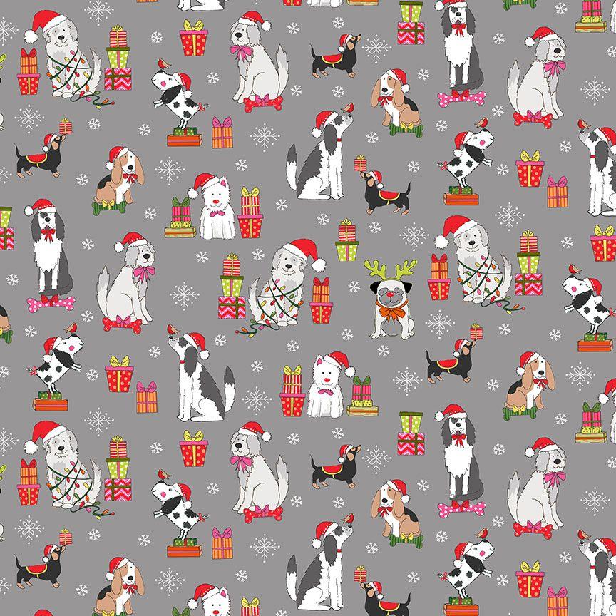 Makower - Christmas 21 Yappy Christmas
