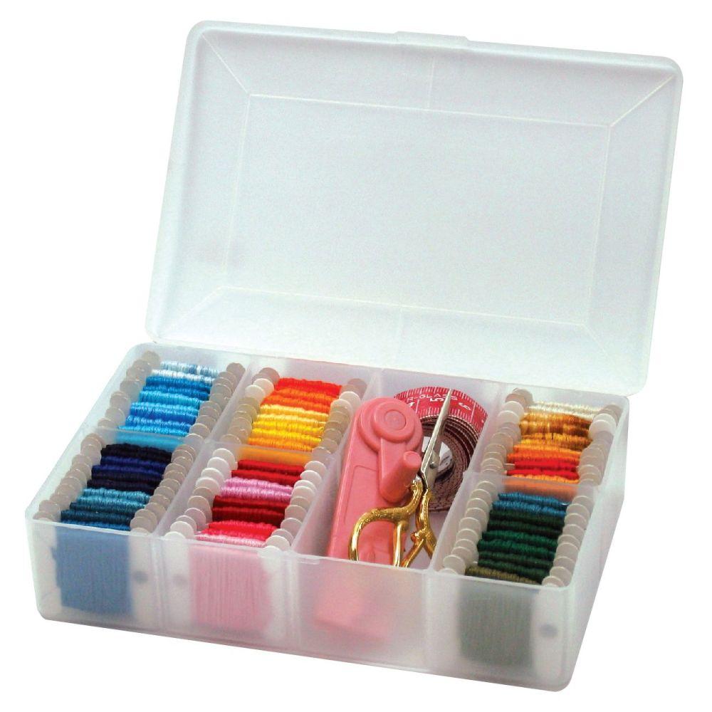 Hemline Medium Embroidery Thread Box