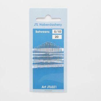 Hand Sewing Needles - Betweens 5/10