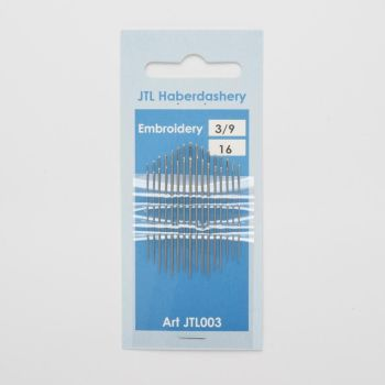 Hand Sewing Needles - Embroidery 3/9