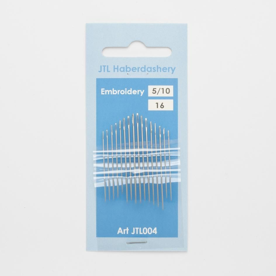 Hand Sewing Needles - Embroidery 5/10