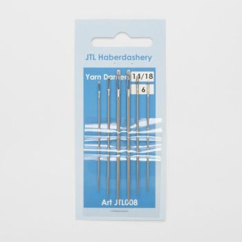 Hand Sewing Needles - Yarn Darners 14/18