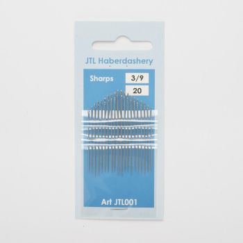 Hand Sewing Needles - Sharps 3/9