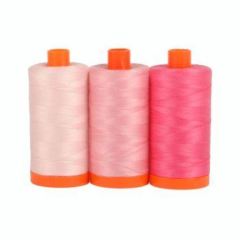 Aurifil 50wt Colour Builder - Sardinia Pink