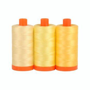 Aurifil 50wt Colour Builder - Sicily Yellow