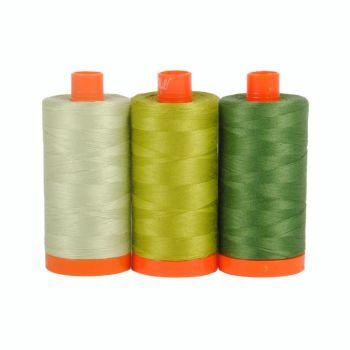 Aurifil 50wt Colour Builder - Dolomites Green