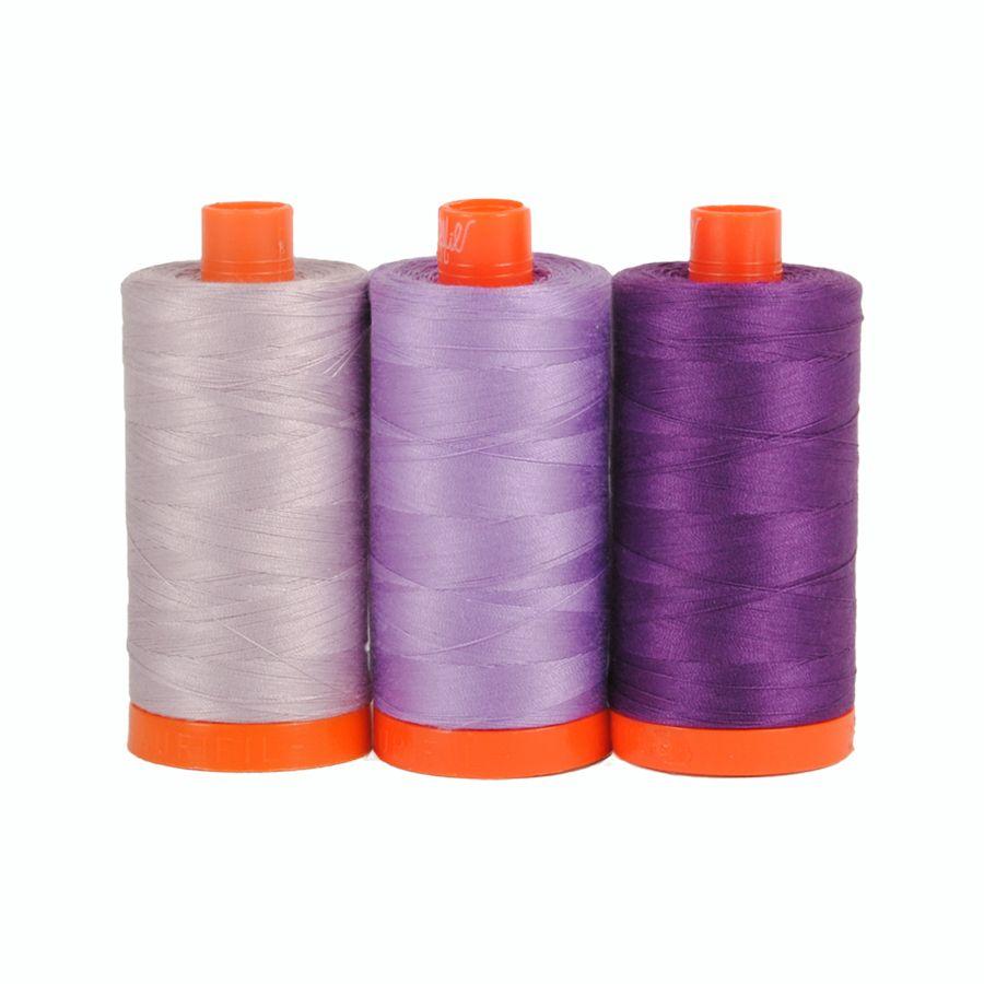 Aurifil 50wt Colour Builder - Amalfi Purple