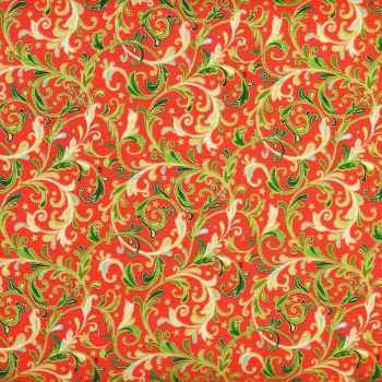 Christmas 21 Classic Foilage - Decorative Scroll