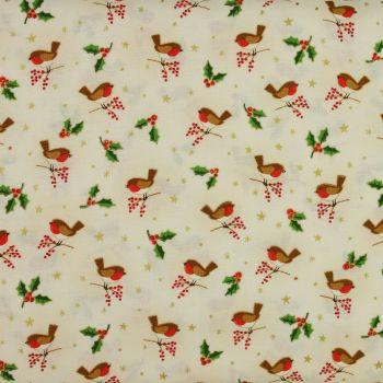 Christmas 21 Classic Foilage - Robins