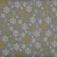 Christmas 21 Scandi - Snowflakes Silver