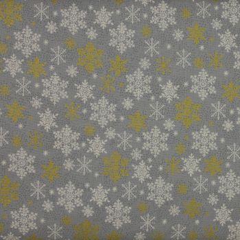 Christmas 21 Scandi - Snowflakes Silver (£12pm)