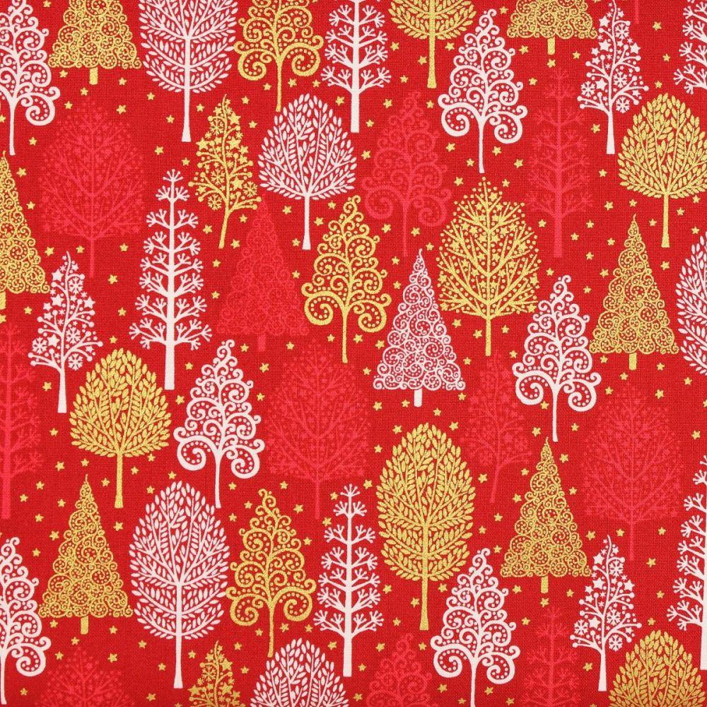 Christmas 21 Scandi - Trees Red