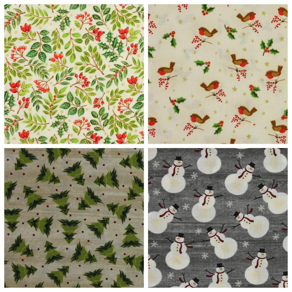 Traditional Christmas Fabrics