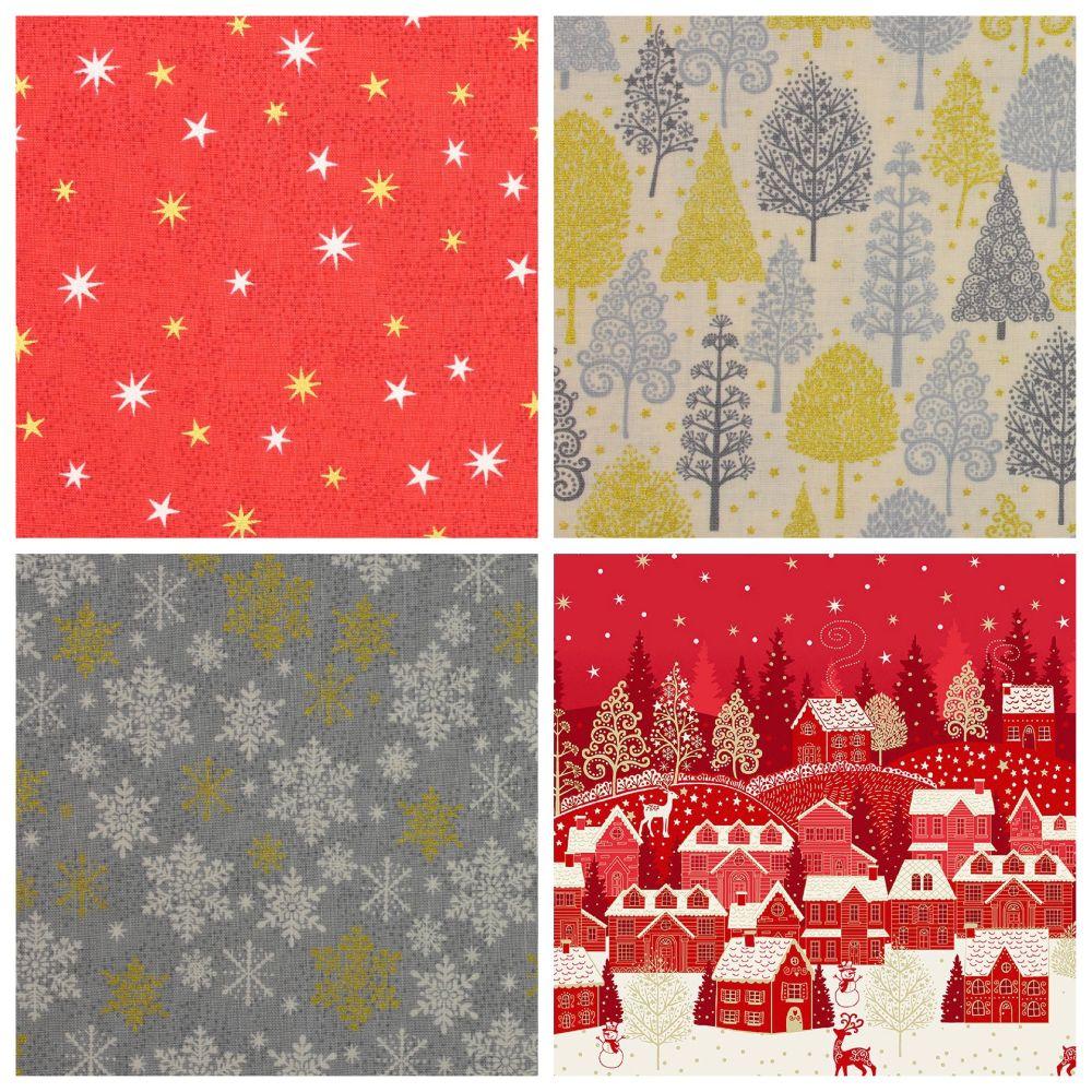 Christmas Scandi Fabrics