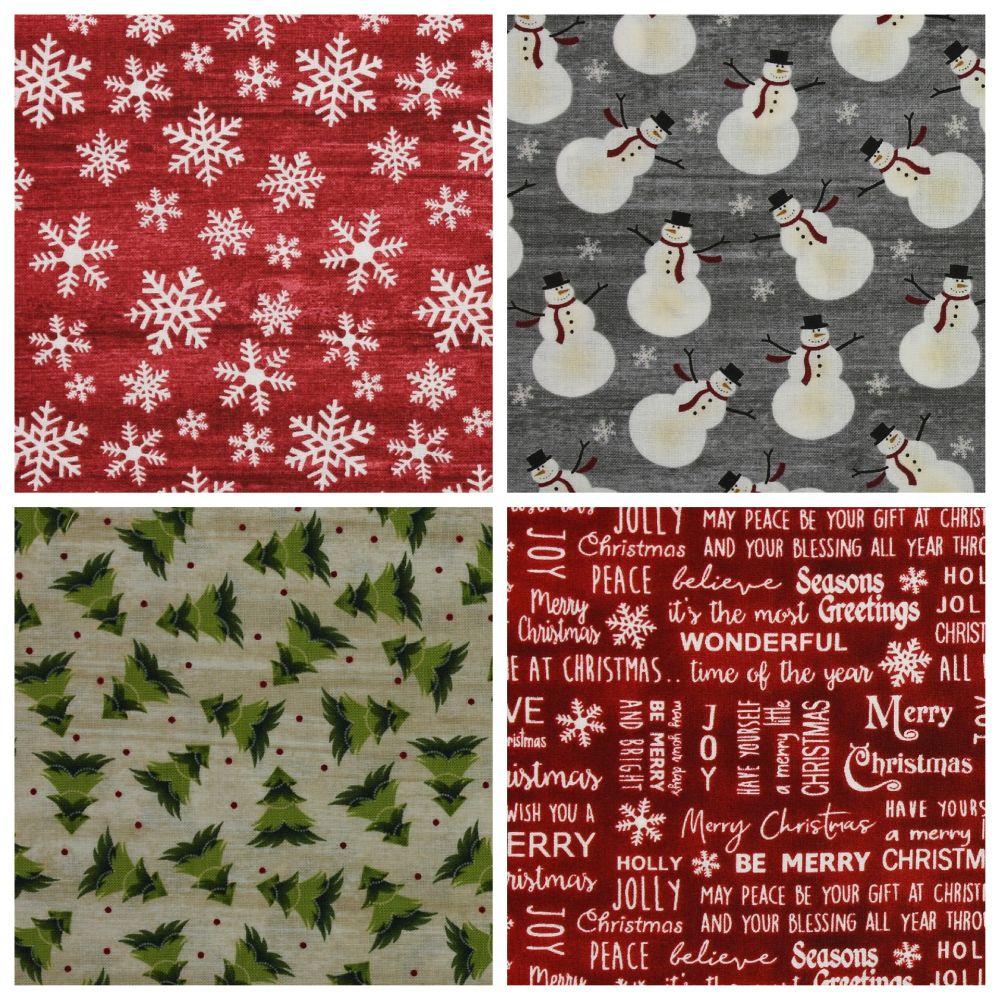American Christmas Fabrics