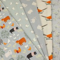 Lewis & Irene Country Life re-loved - 5 piece Fat Quarter Bundle