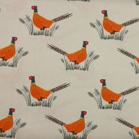 Country Life Reloved - Pheasants on Dark Cream (£12pm)