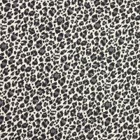 Makower - Around the World - Leopard Print Black (£12pm)