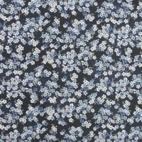 Makower Tranquility Collection - Cherry Branch in Dark Blue (£12pm)