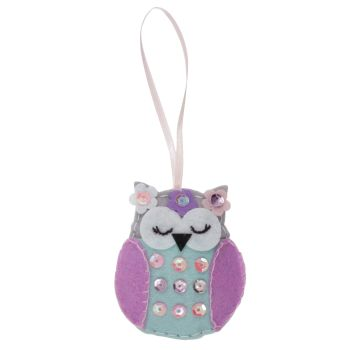 Spring Owl Felt Kit