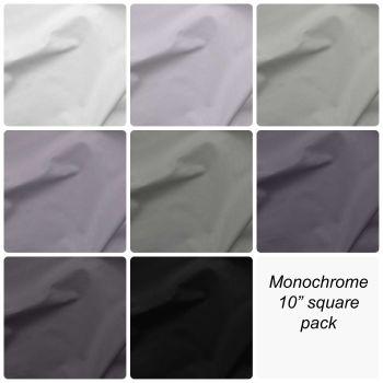 "Monochrome 10"" Square Pack"