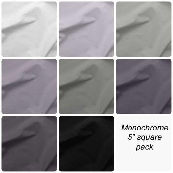 "Monochrome 5"" Square Pack"
