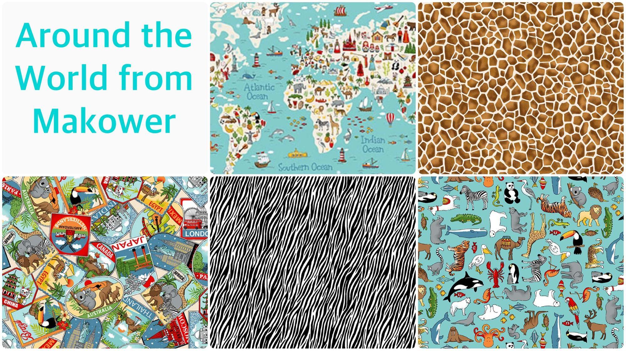 Makower Around the World Collection