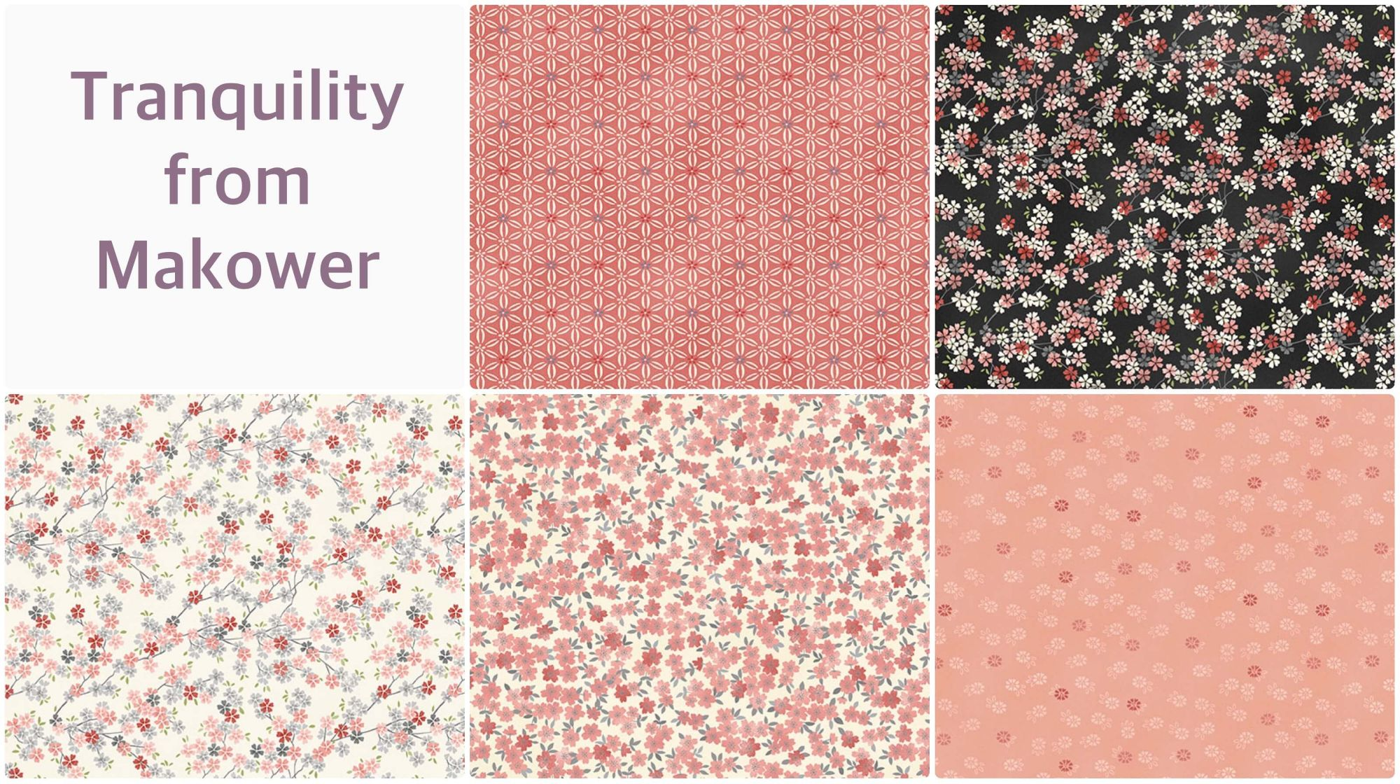 Makower Tranquility Collection