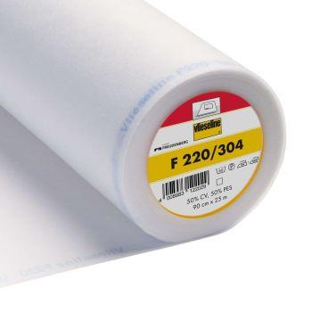 Vlieseline (VILENE) F220/304 - White Fusible Interlining