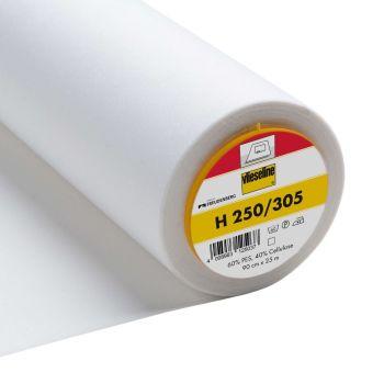 Vlieseline (VILENE) H250/305 - White Fusible Interlining