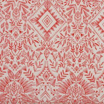 Dashwood Studio Red & White Christmas Fabric - Skogen (£12 per metre)