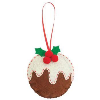 Christmas Pudding Felt Kit