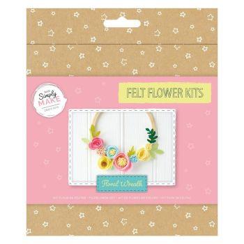Floral Wreath Felt Kit