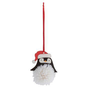Pom Pom Decoration Kit - Penguin