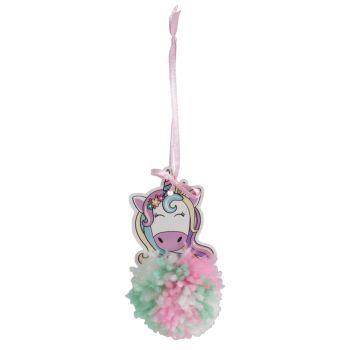 Pom Pom Decoration Kit - Unicorn