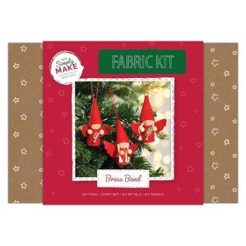 Christmas Fabric Kit - Angel Brass Band