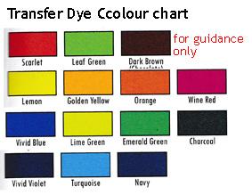 Transfer (Disperse) Dye