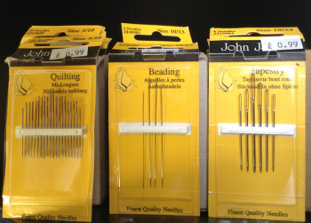 John James Hand Sewing Needles x 10 packs