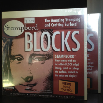 Stampbord Blocks x 2