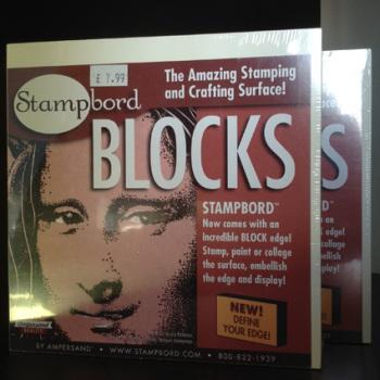 Stampbord Blocks x 2