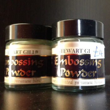 Stewart Gill Embossing Powder 6 x 30ML JARS