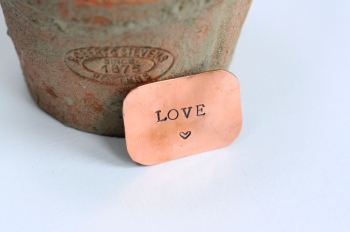 A Little Bag of Love Copper Gift Token