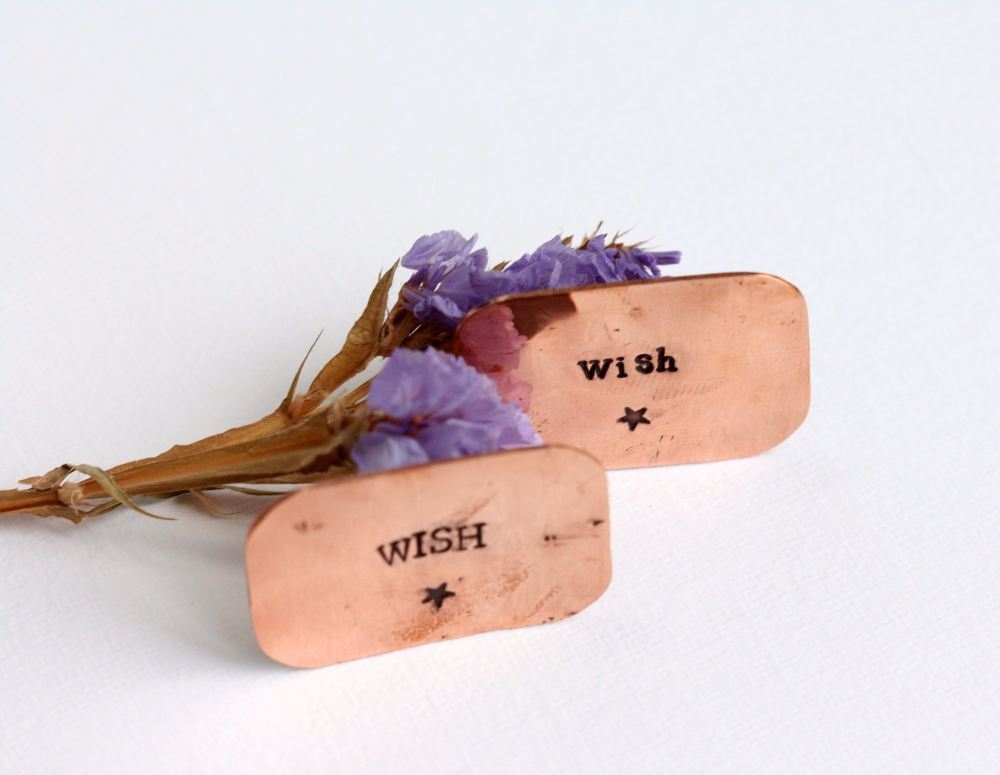 A Little Bag of Wishes Copper Gift Token