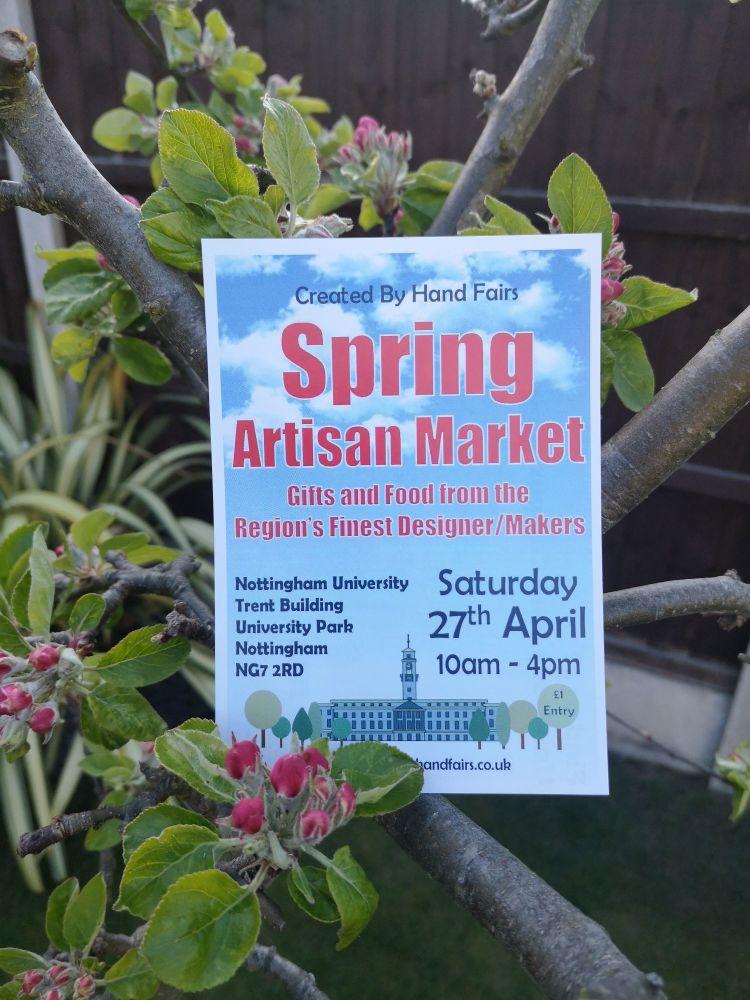 Spring Artisan Market Created By Hand Nottingham