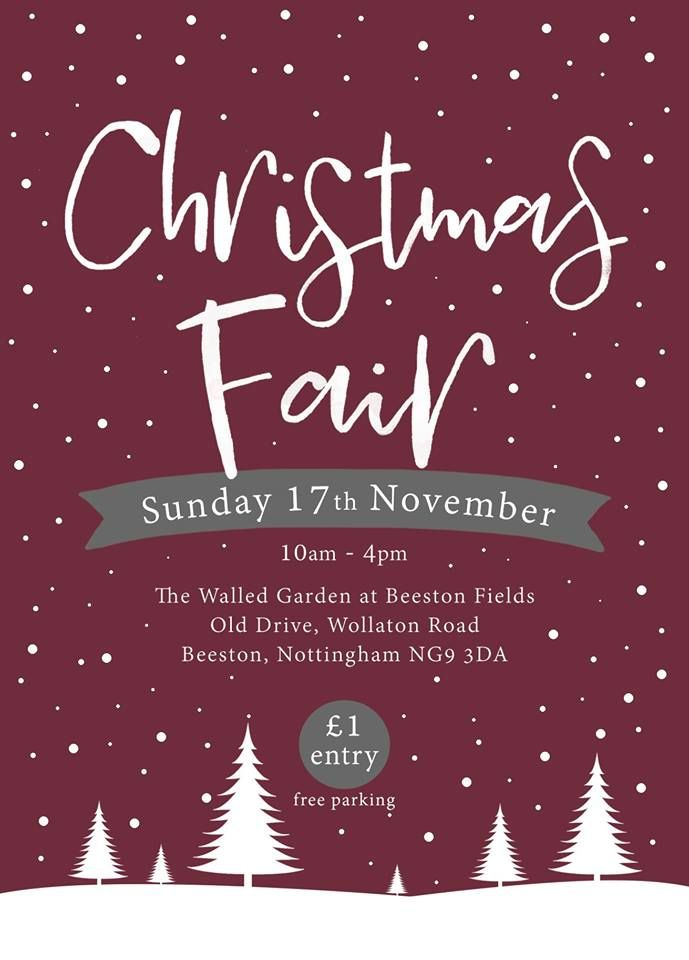 Christmas Fair Walled Garden Beeston Nov 2019