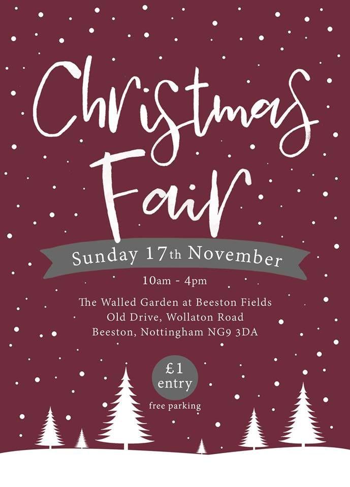 Christmas Fair Walled Garden Beeston Nov 2019