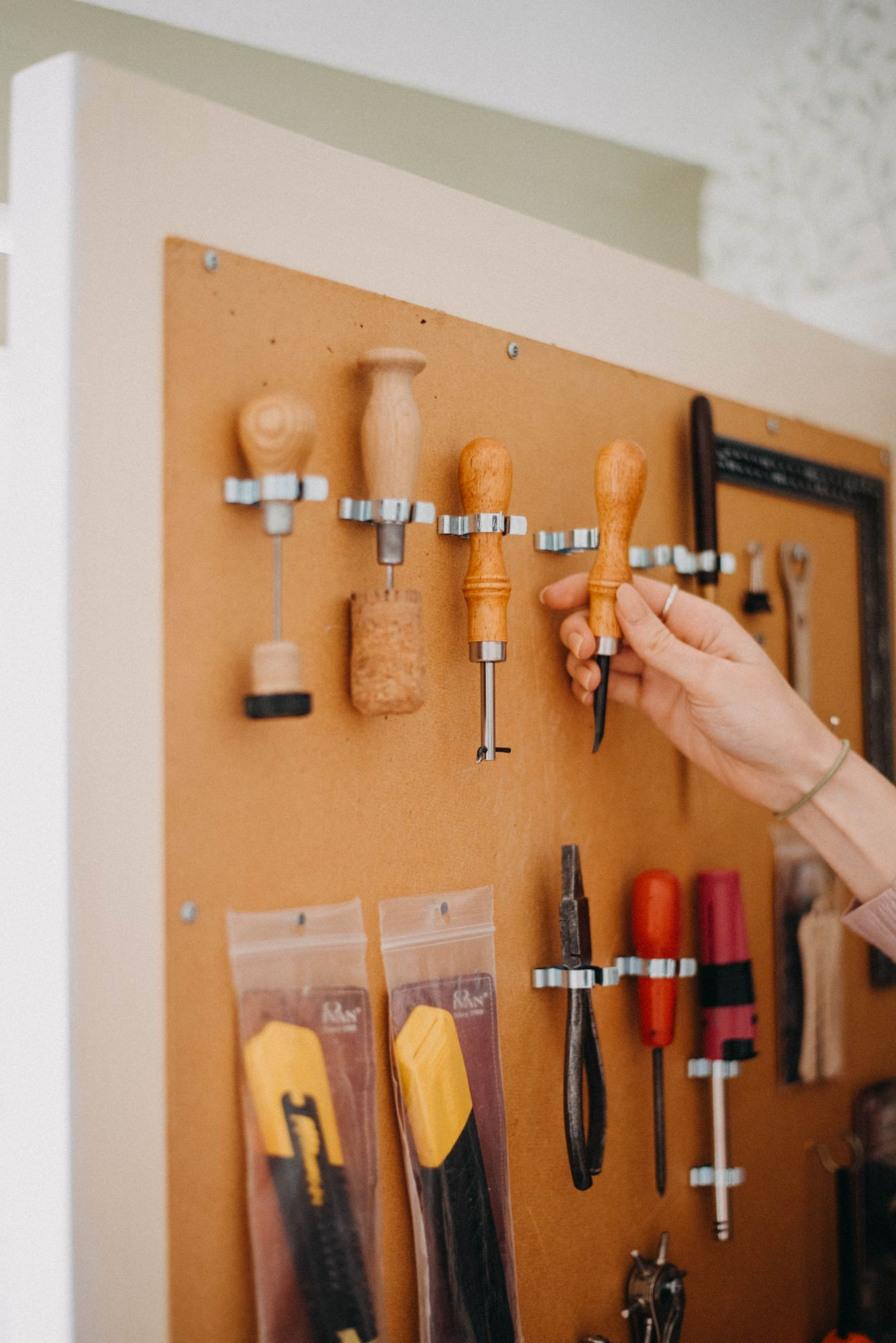 leather craft tools, based in derbyshire