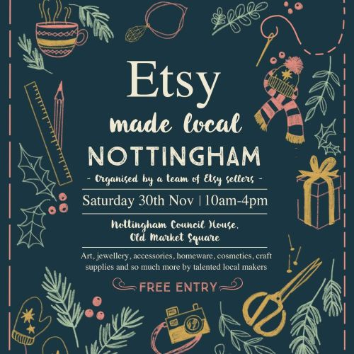 Nottingham Etsy Made Local Event 2019